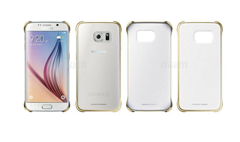 Bộ ba ốp lưng clear cover Samsung Galaxy S6 chính hãng
