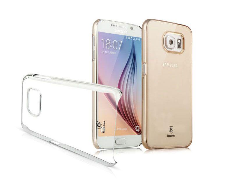 Ốp lưng trong suốt Samsung Galaxy S6 hiệu Baseus