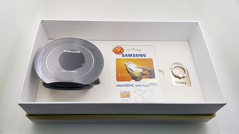 Combo đế sạc nhanh – thẻ nhớ 32GB Evo – Samsung ring Galaxy S7 Edge