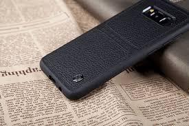 Ốp lưng da Galaxy S8 hiệu Nillkin Burt