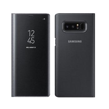 Bao da Clear View Standing cover Galaxy S8 chính hãng
