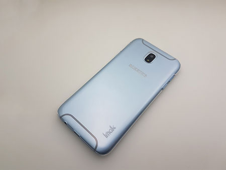 Ốp lưng trong suốt Galaxy J7 Plus hiệu Imak