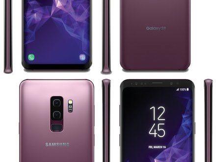 Samsung Galaxy S9 và S9 Plus lộ diện với màu tím Lilac Purple tuyệt đẹp