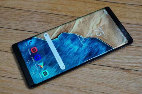 Hé lộ những hình ảnh đầu tiên của Galaxy Note 9