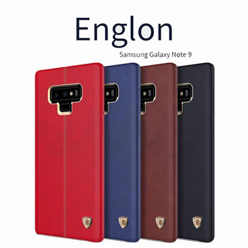 Ốp lưng Englon Leather Cover Galaxy Note 9 hiệu Nillkin