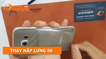 Hướng dẫn thay nắp lưng Galaxy S6 chính hãng giá rẻ tại Tphcm