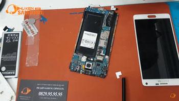 Hướng dẫn thay chân sạc Galaxy Note 4 chính hãng giá rẻ tại Tphcm