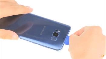 Hướng dẫn thay nắp lưng Galaxy S8 chính hãng giá rẻ tại Hà Nội- Tphcm